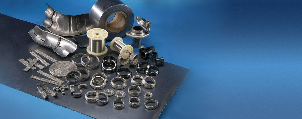 SUS mesh & ring seal for sealing & anti-vibration